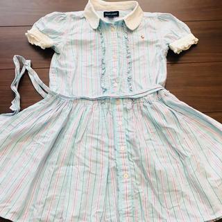 ラルフローレン(Ralph Lauren)の即完売品 激レア ラルフローレン ストライプ ワンピース スカート ドレス(ワンピース)