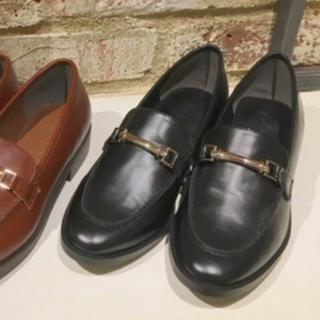 アングリッド(Ungrid)のungrid   フェイクレザーローファー (ブラック)(ローファー/革靴)