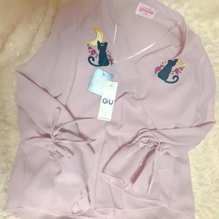 GU - 新品‼️g.u. セーラームーンブラウス ピンク