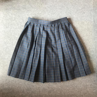 ハナエモリ(HANAE MORI)のお値下げ中 制服 スカート 大きいサイズ チェック(ひざ丈スカート)