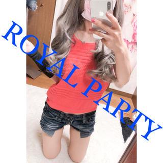 ロイヤルパーティー(ROYAL PARTY)の842.ROYAL PARTY サマーニット ノースリーブ(カットソー(半袖/袖なし))