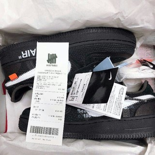 ナイキ(NIKE)のNIKE off-white AIR FORCE 1 low 24cm
