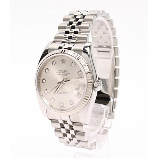 ROLEX - ロレックス デイトジャスト メンズ腕時計の通販 by VIVA's shop|ロレックスならラクマ