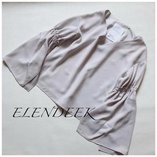ENFOLD - ELENDEEKエレンディーク✳︎フレアスリーブブラウス