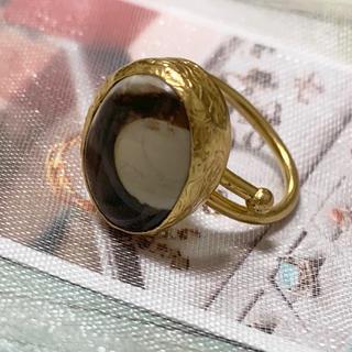 【ビジュマム】ワンストーンリング(リング(指輪))