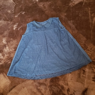 GU - 美品 GU 子供 女の子 チュール重ねデザイン Tシャツ 150cm