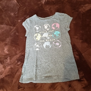 ギャップ(GAP)の美品 GAP 子供 女の子 プリントTシャツ 150cm(Tシャツ/カットソー)