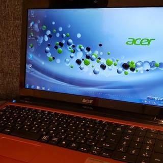 エイサー(Acer)の「値下げしました」 acer win7 corei5 メモリ4GB(ノートPC)