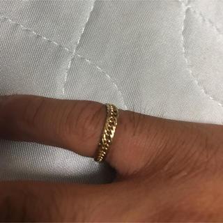 喜平 リング k18 8面トリプル 8号(リング(指輪))