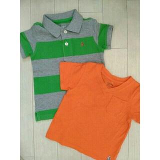 babyGAP - ⭐baby GAP⭐大活躍!ボーダーポロシャツ&ビタミンカラーTシャツセット80