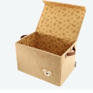ダッフィー - ダッフィー 収納ボックス 組み立て式 ディズニーシー限定