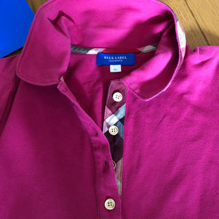 バーバリーブルーレーベル(BURBERRY BLUE LABEL)のクレストブリッジ   ポロシャツ(ポロシャツ)
