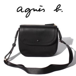 agnes b. - 【新品、タグ付き】agnes b. アニエスベー ショルダーバッグ ブラック