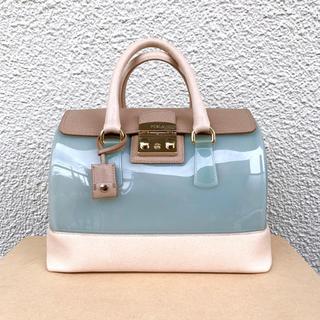 フルラ(Furla)のキャンディ完売バッグ限定バッグ正規品ライトブルー大サイズ(ハンドバッグ)