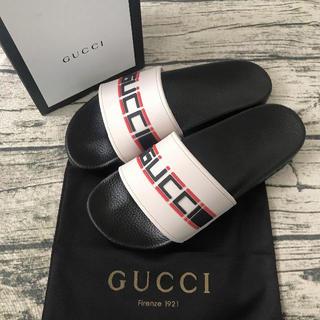 Gucci - グッチ ラバースライドサンダル