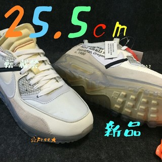 OFF-WHITE - NIKE Air max 90 x OFF-WHITE  25.5cm