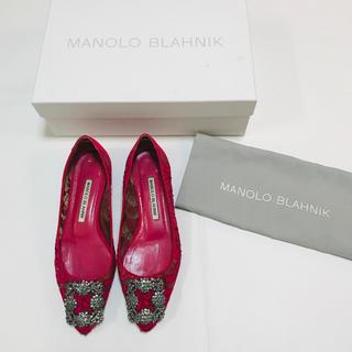 マノロブラニク(MANOLO BLAHNIK)のMANOLO BLAHNIK バレエシューズ(バレエシューズ)