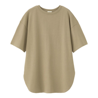 GU - GU♡ヘビーウェイトオーバーサイズTシャツ