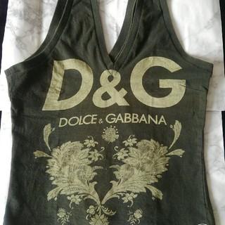 DOLCE&GABBANA - D&G タンクトップ ドルチェ&ガッバーナ