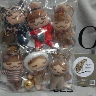メゾンドリーファー(Maison de Reefur)のリンカちゃん人形 6点 セピアカラー ザオアン 台湾限定 メゾンドリーファー(キーホルダー)