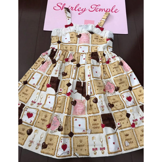 Shirley Temple - 新品 シャーリーテンプル ビスケットワンピース130+ノベルティ