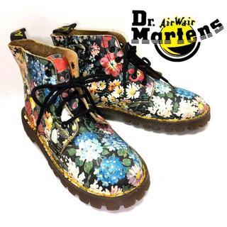 ドクターマーチン(Dr.Martens)の★激レア★新品未使用*マーチン*花柄プリントブーツ(ブーツ)