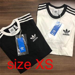 オリジナル(Original)の新品、未使用 アディダスオリジナルス 3ストライプ  XSセット(Tシャツ/カットソー(半袖/袖なし))