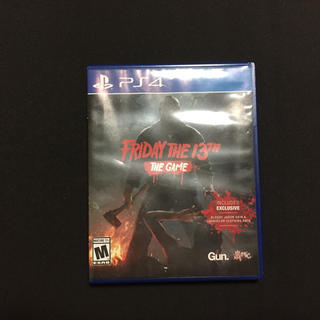 ps4 friday the 13(家庭用ゲームソフト)