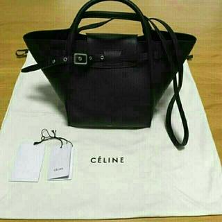 celine - CELINE セリーヌ ビッグバッグスモール ブラック
