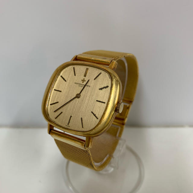 VACHERON CONSTANTIN - アンティーク!ヴァシュロン・コンスタンタン k18 金無垢 手巻き 腕時計の通販 by まいも's shop|ヴァシュロンコンスタンタンならラクマ