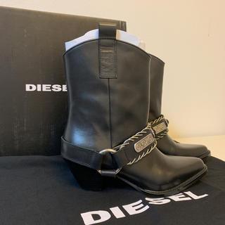 DIESEL - DIESEL ウエスタンブーツ  36