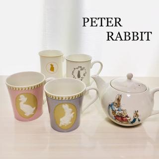 NARUMI - [新品]PETER RABBIT 5点セット/ティーポット マグカップ