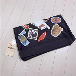 Casselini - 新品・タグ付き✨キャセリーニ MA-1風 ワッペン クラッチバッグ バッグ