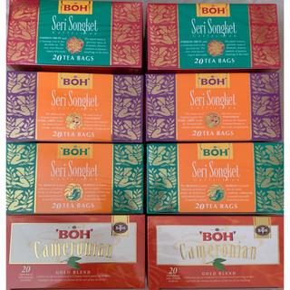 BOH - BOH キャメロニアンゴールドブレンド および3種のフレーバーティーセット