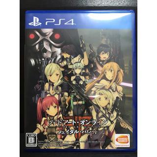 プレイステーション4(PlayStation4)のソードアート・オンライン PS4ソフト(家庭用ゲームソフト)