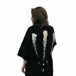 ゆるT オーバー2XL モンスター エナジー 韓国ファッション ビッグシルエット(Tシャツ(半袖/袖なし))