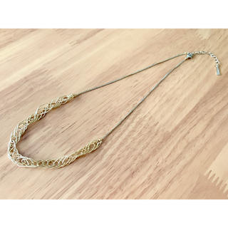 ゴールド チェーンネックレス 美品(ネックレス)