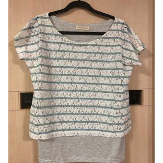 ベルメゾン(ベルメゾン)のTシャツ カットソー(カットソー(半袖/袖なし))
