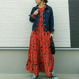 ZARA - フラワープリント 花柄 ワンピース