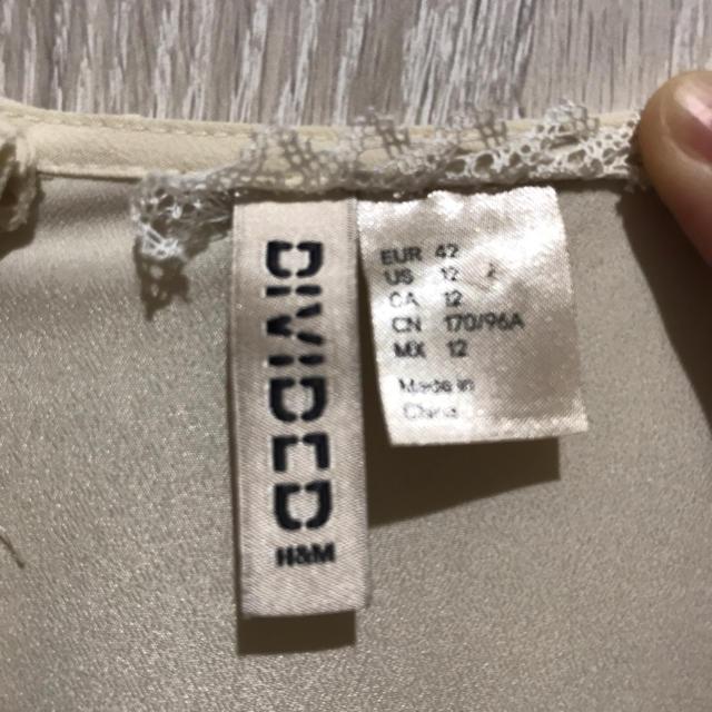H&M(エイチアンドエム)のH&M ワンピースドレス レディースのワンピース(ひざ丈ワンピース)の商品写真