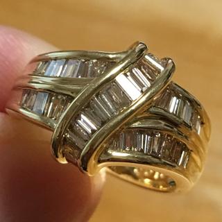 キラッキラッ❗️ゴージャス✨ダイヤモンド✨1カラット✨リング✨指輪✨11.5号✨(リング(指輪))