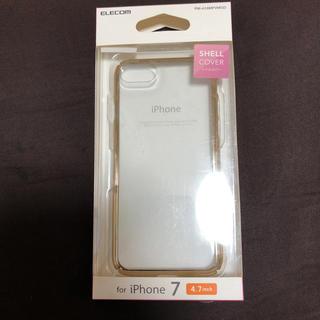 エレコム(ELECOM)のiPhone7シェルカバー (4.7インチ)(iPhoneケース)