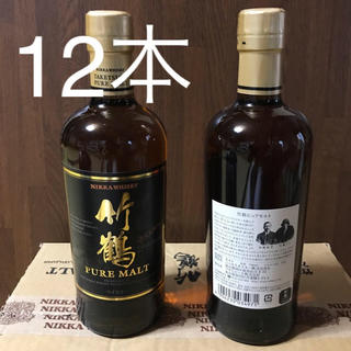 アサヒ - 竹鶴ピュアモルト 12本 1ケース