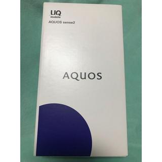 SHARP - AQUOS sense2 SHV43 ホワイト 新品未開封