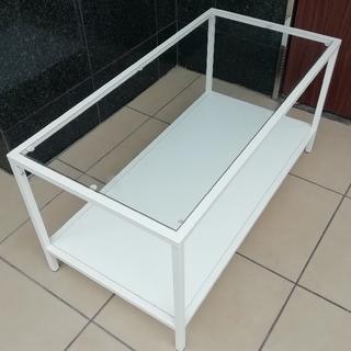 IKEA - [美品] IKEA ガラストップローテーブル