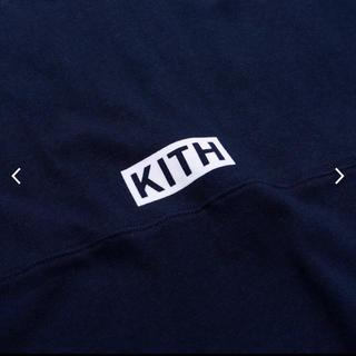 シュプリーム(Supreme)のKITH Monday program box logo ロンt(Tシャツ/カットソー(七分/長袖))