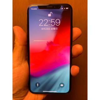 iPhone - iPhone X スペースグレー64GB SIMフリー
