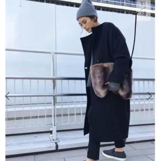 アパルトモンドゥーズィエムクラス(L'Appartement DEUXIEME CLASSE)のAP STUDIO◆Oversized LAMB Coat (ロングコート)