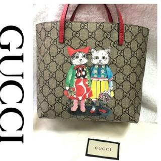 Gucci - GUCCI グッチヒグチユウコさんコラボミニトートバッグ