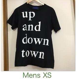 【Etudes studio/エチュードスタジオ】黒の半袖Tシャツ メンズXS(Tシャツ/カットソー(半袖/袖なし))